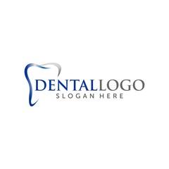 dental Illustration Logo Vector
