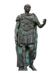 Rimini - Julius Caesar statue - isolated