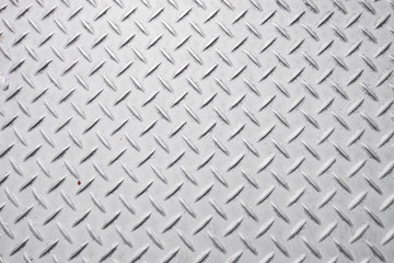 abstract background of old metal diamond plate