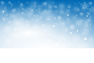 Winter background illustration.