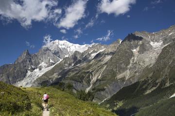 Escursionismo, massiccio del Monte Bianco