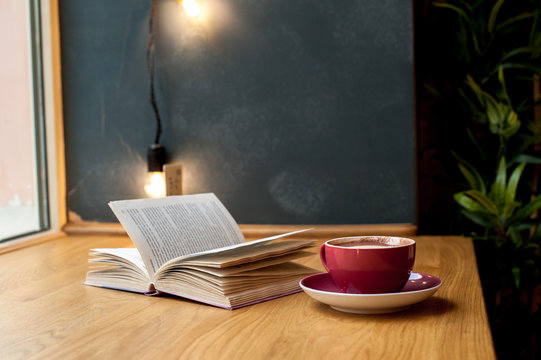 Inspiration from coffee and book