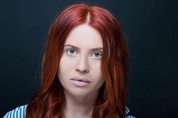 Profesional studio photo of female model