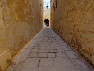 passage in Mdina