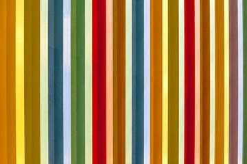 bandes colorées verticales