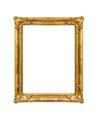 Frame on white background.