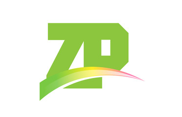 ZP Initial Logo for your startup venture