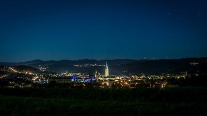 Arnsberg-Neheim bei Nacht