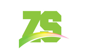 ZS Initial Logo for your startup venture
