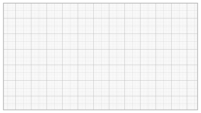 Millimeter Paper Vector. Grey. Graphing Paper For Engineering, Education, Drawing Projects. Graph Grid Paper Measure Illustration