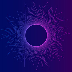 Abstract background eclipse dune effect05