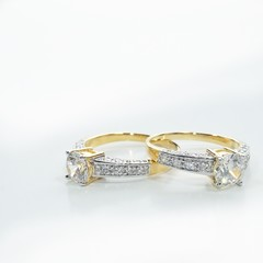 Jewelry wedding diamond whitegold gold