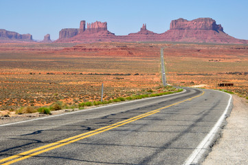 western roads of utah and arizona