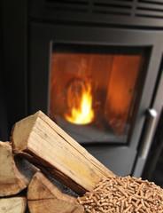Chauffage aux granulés de bois
