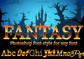 Fantasy Text Style 1