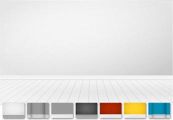 Interior Wall Illustration Kit