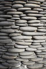 Beautiful stone arrangement  on display