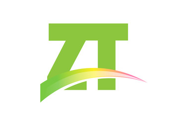 ZT Initial Logo for your startup venture