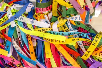 Wishing ribbon, faith and colours