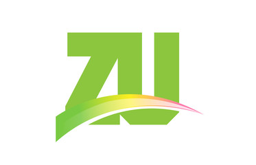ZU Initial Logo for your startup venture