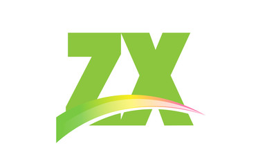 ZX Initial Logo for your startup venture