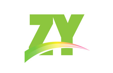 ZY Initial Logo for your startup venture