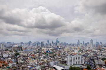 view of Bangkok city, Thailand