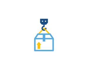 Logistic Icon Logo Design Element
