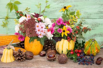 Herbst Naturmort