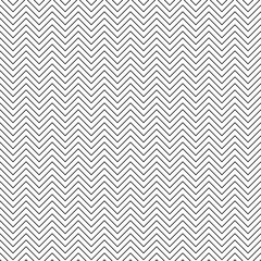 Vector seamless zigzag pattern. Chevron line texture. Black-and-white background. Monochrome minimal design. Vector EPS10