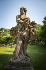 Castle Wolfsgarden sculptures