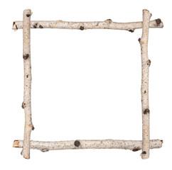 Twig frame of birch