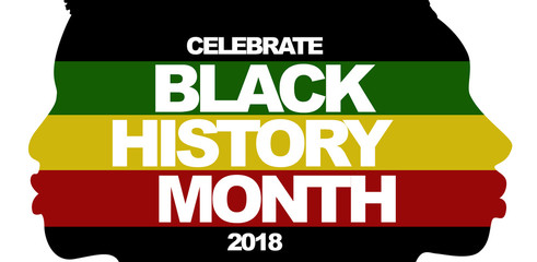 Black History Month 2018 Wall mural
