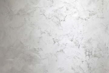 Silver paint wall background