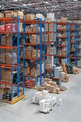 Big Warehouse building interior