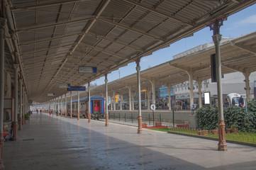 Old Perron on Sirkeci railway station, Istanbul, Turkey