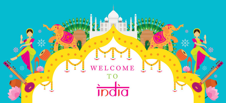 India Travel Attraction banner