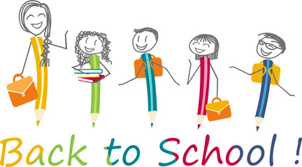 Back to school, rentrée des classes