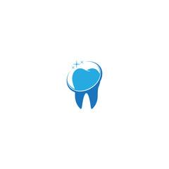 fresh dental vector logo template