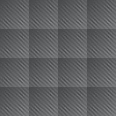 Seamless squares halftone lines pattern. Vector illustration.