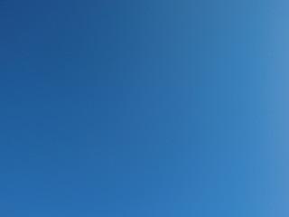 雲ひとつない晴天