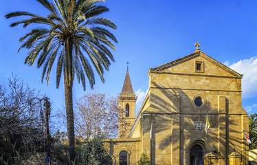 Holy cross catholic church in Nicosia, Cyprus
