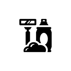 Shave isolated icon