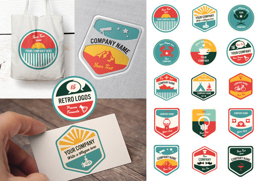 15 Vintage and Retro Logos
