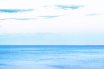 blue sea and clouds on sky Crimea