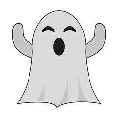 ghost cartoon icon image
