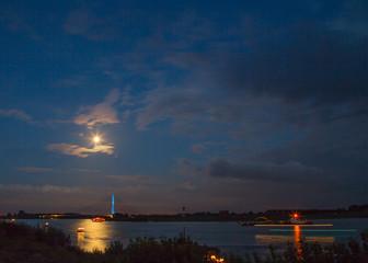 Feuerwerk in Wesel am Rhein