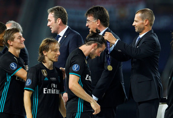 Real Madrid v Manchester United - Super Cup Final