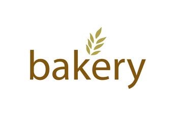 Vector - modern bakery logo, isolated on white background. Vector illustration.