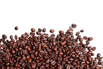 Seed of coffee for background